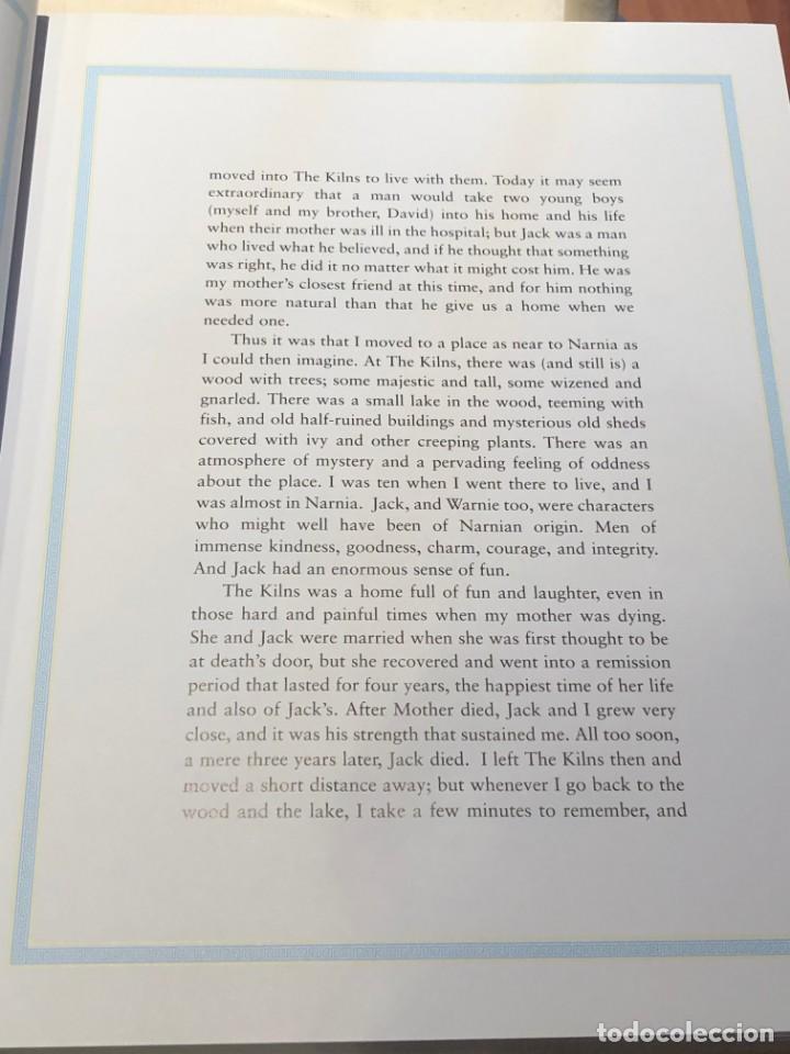 Libros antiguos: LIBRO LAS CRÓNICAS DE NARNIA COMPLETAS VERSIÓN EN INGLÉS - C S LEWIS PAULINE BAYNES - Foto 8 - 168733360