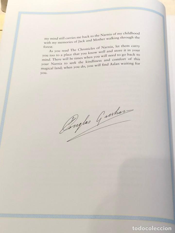 Libros antiguos: LIBRO LAS CRÓNICAS DE NARNIA COMPLETAS VERSIÓN EN INGLÉS - C S LEWIS PAULINE BAYNES - Foto 9 - 168733360
