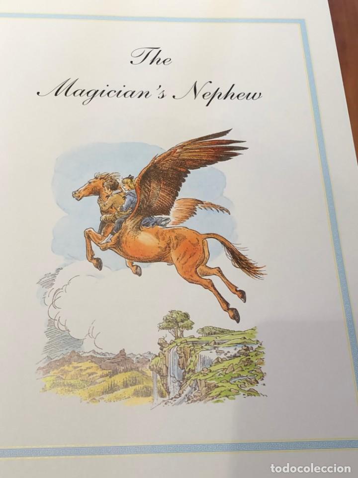 Libros antiguos: LIBRO LAS CRÓNICAS DE NARNIA COMPLETAS VERSIÓN EN INGLÉS - C S LEWIS PAULINE BAYNES - Foto 11 - 168733360