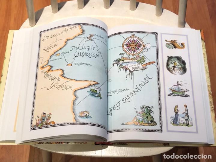 Libros antiguos: LIBRO LAS CRÓNICAS DE NARNIA COMPLETAS VERSIÓN EN INGLÉS - C S LEWIS PAULINE BAYNES - Foto 13 - 168733360