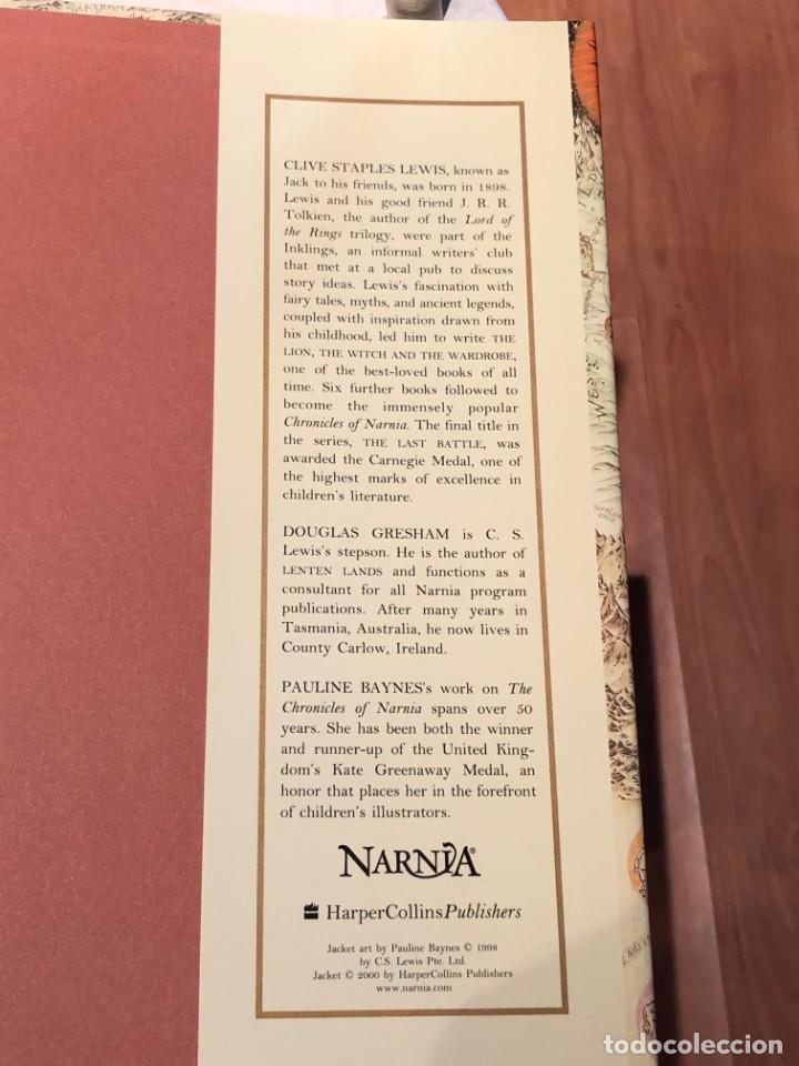 Libros antiguos: LIBRO LAS CRÓNICAS DE NARNIA COMPLETAS VERSIÓN EN INGLÉS - C S LEWIS PAULINE BAYNES - Foto 15 - 168733360