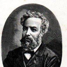 Libros antiguos: ONCE OBRAS DE JULIO VERNE TRILLA Y SERRA (1875). Lote 168998820