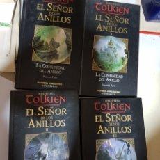 Libros antiguos: EL SEÑOR DE LOS ANILLOS COLECCION COMPLETA 4 LIBROS EDITORIAL PLANETA. Lote 217129382
