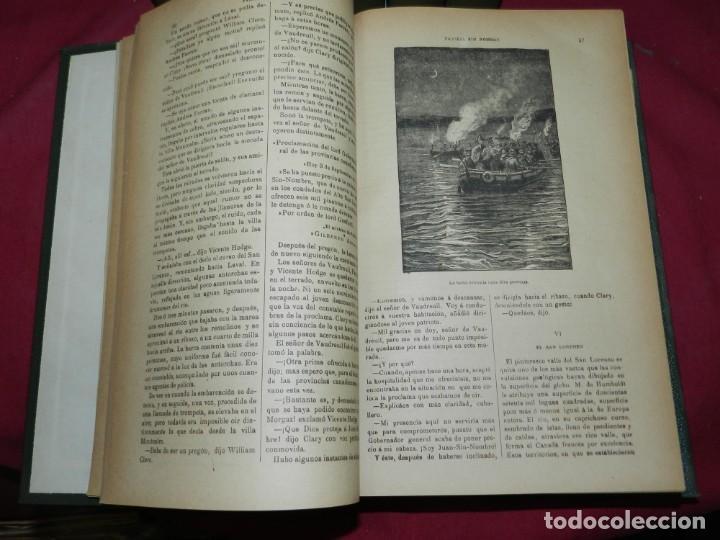 Libros antiguos: (M4.11) Obras de Julio Verne - 7 Volumenes con Diferentes Novelas Madrid Saenz de Jubera - Foto 3 - 169662336
