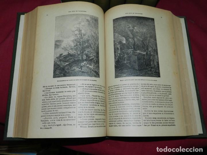 Libros antiguos: (M4.11) Obras de Julio Verne - 7 Volumenes con Diferentes Novelas Madrid Saenz de Jubera - Foto 5 - 169662336