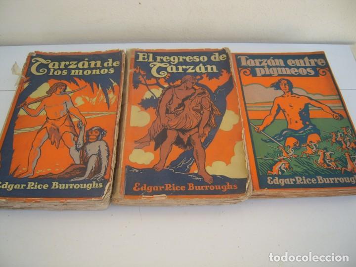 3 DE TARZAN EDITOR GUSTAVO GILI (Libros antiguos (hasta 1936), raros y curiosos - Literatura - Narrativa - Ciencia Ficción y Fantasía)