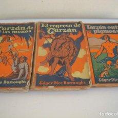 Libros antiguos: 3 DE TARZAN EDITOR GUSTAVO GILI. Lote 171813827