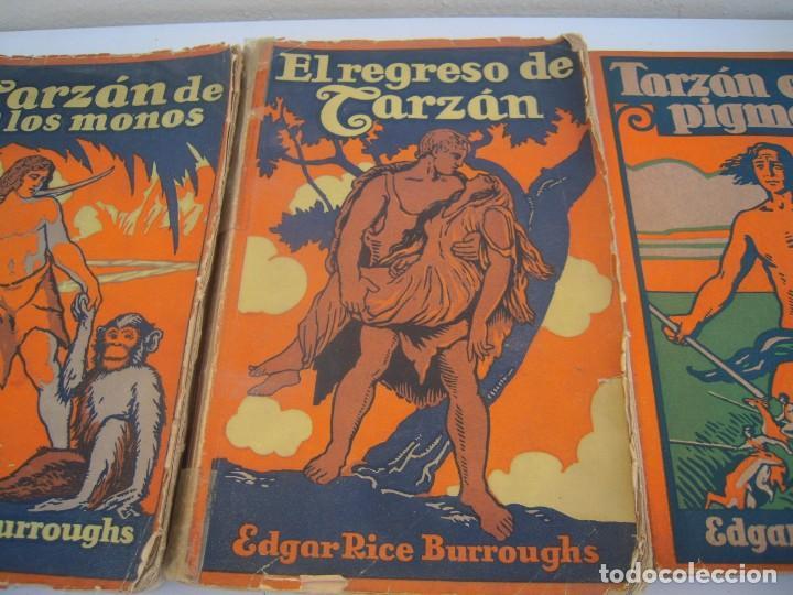 Libros antiguos: 3 de tarzan editor gustavo gili - Foto 3 - 171813827