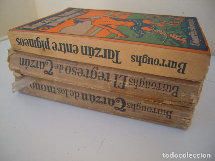 Libros antiguos: 3 de tarzan editor gustavo gili - Foto 5 - 171813827
