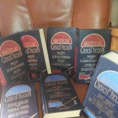 Libros antiguos: LOTE DE LIBROS 'OBRAS ESTELARES DE LA CIENCIA-FICCIÓN'. Lote 172771902