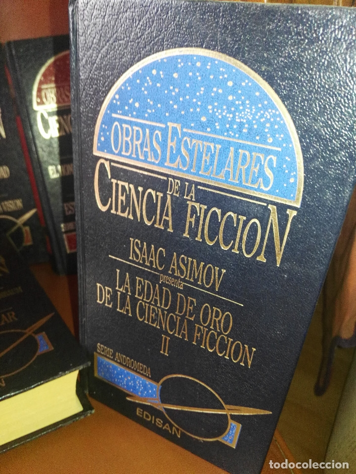 Libros antiguos: Lote de libros Obras estelares de la Ciencia-Ficción - Foto 3 - 172771902