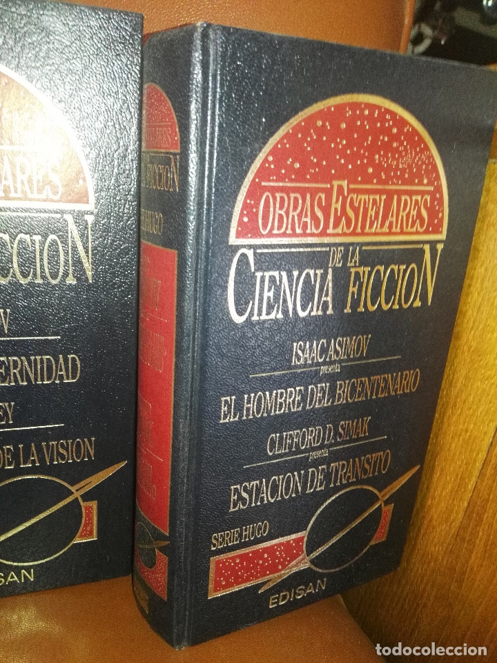 Libros antiguos: Lote de libros Obras estelares de la Ciencia-Ficción - Foto 5 - 172771902