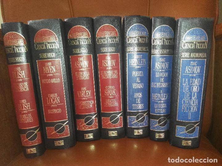 Libros antiguos: Lote de libros Obras estelares de la Ciencia-Ficción - Foto 9 - 172771902