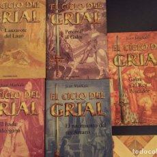 Libros antiguos: COLECCIÓN EL CICLO DEL GRIAL DE JEAN MARKALE. Lote 172822155