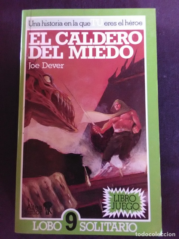 EL CALDERO DEL MIEDO - JOE DEVER. (Libros antiguos (hasta 1936), raros y curiosos - Literatura - Narrativa - Ciencia Ficción y Fantasía)