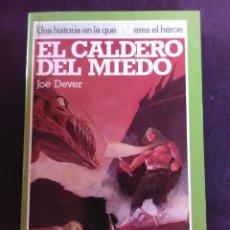 Libros antiguos: EL CALDERO DEL MIEDO - JOE DEVER.. Lote 173560059