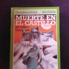 Libros antiguos: MUERTE EN EL CASTILLO- JOE DENVER-GARY CHALK. Lote 173560772