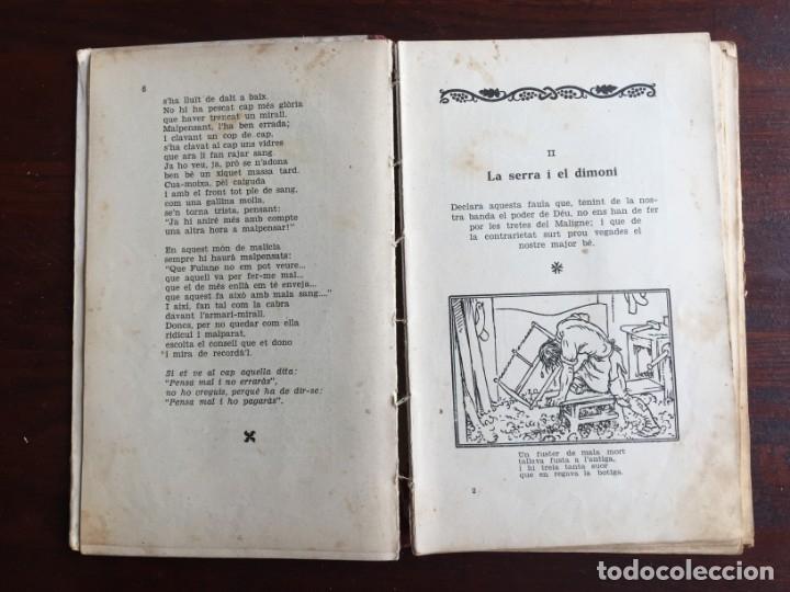 Libros antiguos: Faules i Moralitats de Joan Punti i collell, amb cent dibuixos d´en Junceda Col.leccio Roselles 1932 - Foto 5 - 174177772