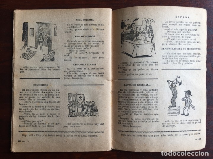Libros antiguos: Faules i Moralitats de Joan Punti i collell, amb cent dibuixos d´en Junceda Col.leccio Roselles 1932 - Foto 26 - 174177772