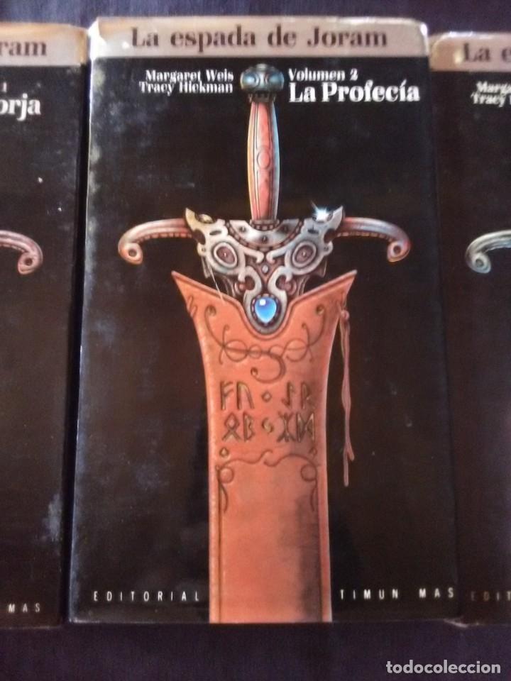 Libros antiguos: Trilogía La espada de Joram 3volumenes edición 1988 - Foto 3 - 175987838