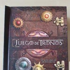 Libros antiguos: JUEGO DE TRONOS LA GUÍA POP-UP DE PONIENTE NORMA. Lote 177220165