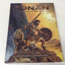 Libros antiguos: CONAN EL JUEGO DE ROL . EDICION ATLANTEA . EDGE . Lote 177490980