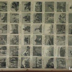 Libros antiguos: ATENCIÓN SEGUIDORES DE JULIO VERNE: HISTORIA DE TRES RUSOS Y TRES INGLESES CON PRECIOSOS DIBUJOS. Lote 178232018