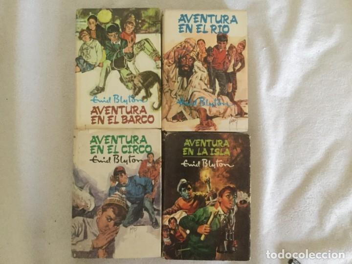COLECCION AVENTURA DE ENID BLYTON (Libros antiguos (hasta 1936), raros y curiosos - Literatura - Narrativa - Ciencia Ficción y Fantasía)