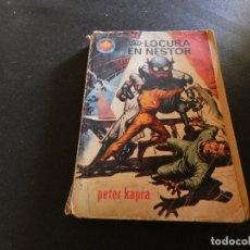 Libros antiguos: ESTADO ACEPTABLE LIBRO CIENCIA FICCION Y FANTASIA ESPACIIO MUNDO LOCURA EN NESTOR. Lote 178883106