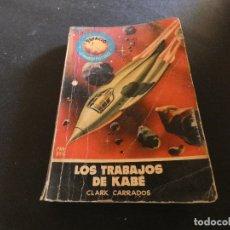 Libros antiguos: ESTADO ACEPTABLE LIBRO CIENCIA FICCION ESPACIO MUNDO FUTURO LOS TRABAJOS DE KABE. Lote 178884072
