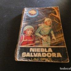 Libros antiguos: ESTADO ACEPTABLE LIBRO CIENCIA FICCION ESPACIO MUNDO FUTURO NIEBLA SALVADORA. Lote 178884112