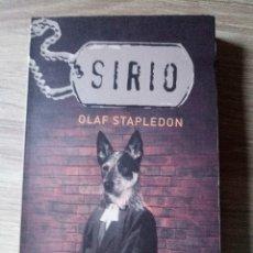 Libros antiguos: SIRIO DE OLAF STAPLEDON EDITORIAL MINOTAURO. Lote 179049297