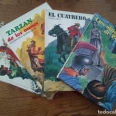 Libros antiguos: 4 TOMOS DE LA COLECCIÓN SAETA. Lote 179096116