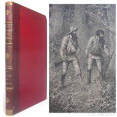Libros antiguos: 1900 - JULIO VERNE: JULIO VERNE: EL NAUFRAGIO DEL CYNTHIA. UN CAPITÁN DE QUINCE AÑOS - GRABADOS. Lote 179326137