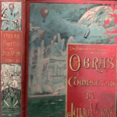 Libros antiguos: OBRAS COMPLETAS DE JULIO VERNE TOMO 3º (SÁENZ DE JUBERA HNOS.). Lote 180262583