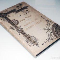Libros antiguos: DOS AÑOS DE VACACIONES . HISTORIA DE LOS GRANDES VIAJES Y … / JULIO VERNE. SÁENZ DE JUBERA, [S.A.]. . Lote 180289116