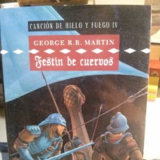 Livres anciens: FESTÍN DE CUERVOS, CANCIOÓN DE HIELO Y FUEGO IV, GEORGE R.R. MARTIN. CÍRCULO DE LECTORES.. Lote 180483905