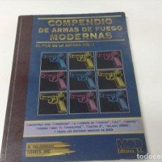 Libros antiguos: COMPENDIO DE ARMAS DE FUEGO MODERNAS . EL FILO DE LA ESPADA VOL.1. Lote 181035118