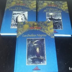 Libros antiguos: JULIO VERNE X3 EDICION EN RUSTICA ED RUEDA. Lote 181462488