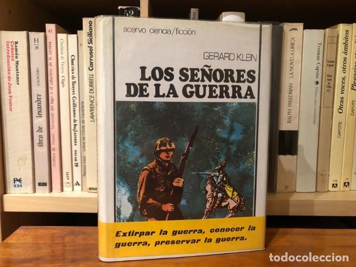 LOS SEÑORES DE LA GUERRA. GERARD KLEIN ACERVO. VIAJES EN EL TIEMPO. (Libros antiguos (hasta 1936), raros y curiosos - Literatura - Narrativa - Ciencia Ficción y Fantasía)