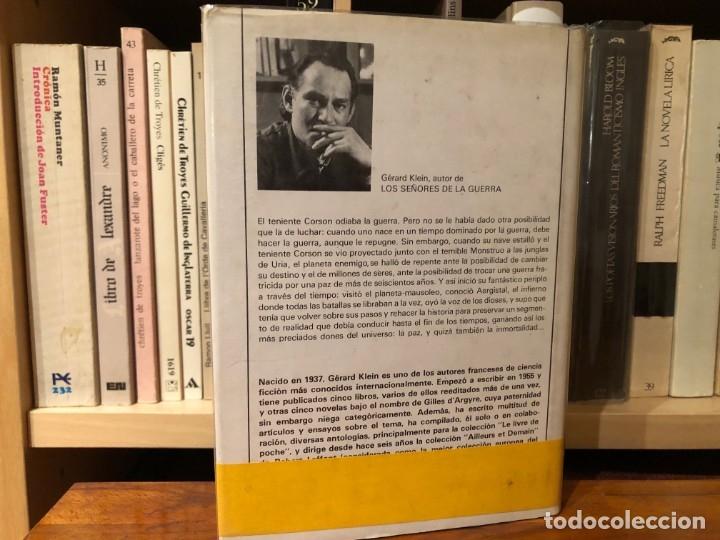 Libros antiguos: Los señores de la guerra. Gerard Klein Acervo. Viajes en el Tiempo. - Foto 2 - 183031345