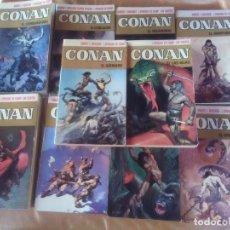 Libros antiguos: LOTE 10 TÍTULOS CONAN - 1ª EDICION DE 1973.. Lote 182920852