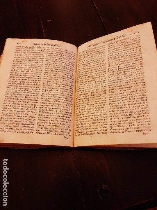 Libros antiguos: TRAVAJOS PERSILES Y SIGUISMUNDA AÑO 1734 - Foto 4 - 183527455