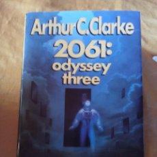 Libros antiguos: 2061 ODYSSEY THREE - ARTHUR C.CLARKE - 1ª EDICION AMERICANA 1988.. Lote 183694477