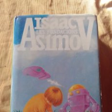Libros antiguos: ISAAC ASIMOV - LES FUNDACIONS - EDITORIAL GRUPO DEL LLIBRE - 1ª EDICION EN CATALÁN DE 1987. . Lote 183823515