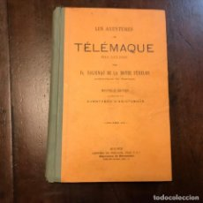 Libros antiguos: LES AVENTURES DE TÉLÉMAQUE FILS D'ULYSSE - FRANÇOIS SALIGNAC DE LA MOTHE FÉNELON. Lote 184087443