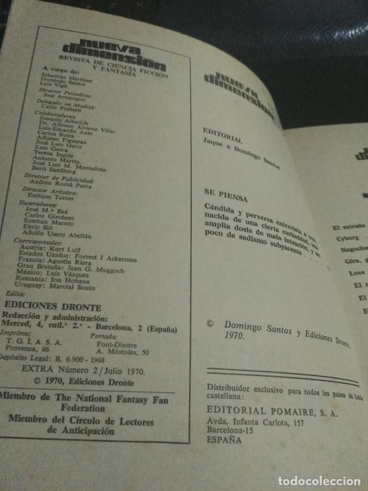 Libros antiguos: Nueva Dimensión Extra nº 2 - Foto 4 - 184210707