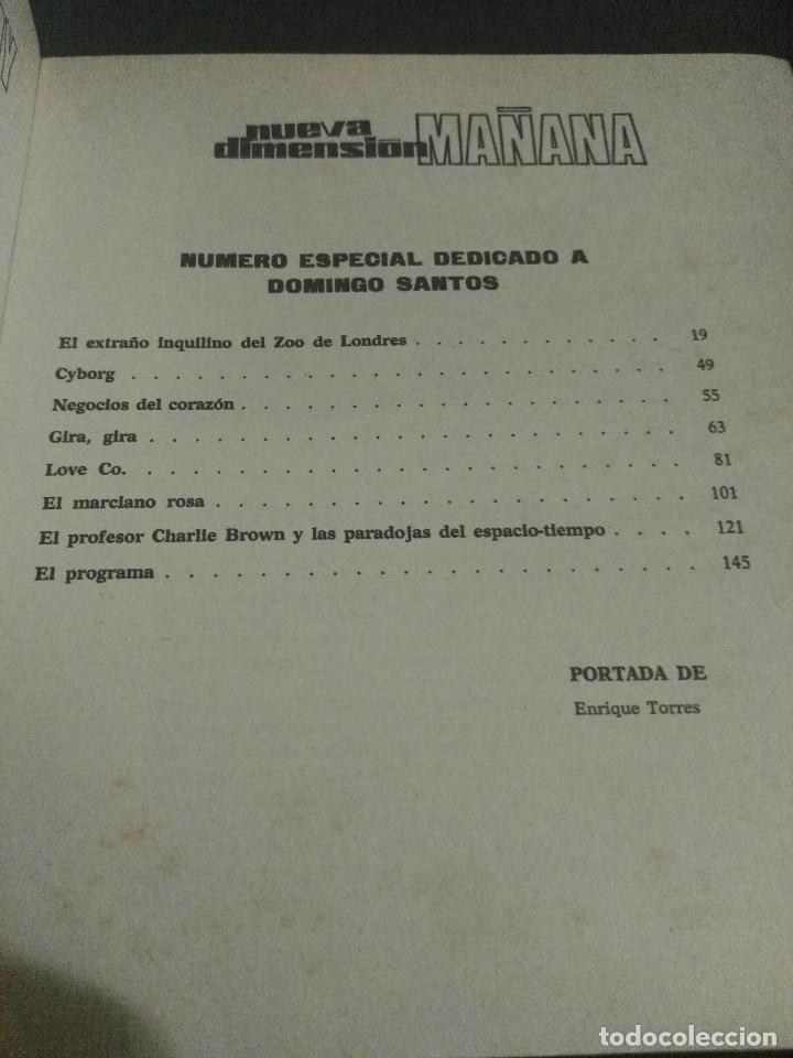 Libros antiguos: Nueva Dimensión Extra nº 2 - Foto 5 - 184210707
