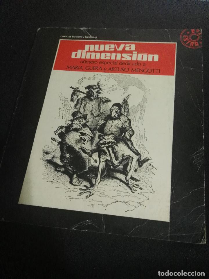 Libros antiguos: Nueva Dimensión Extra nº 5 - Foto 2 - 184211082