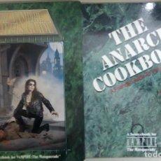Livros antigos: VAMPIRE THE MASQUERADE, 2 GUIAS EN INGLES, WHITE WOLF, L11472. Lote 185728668